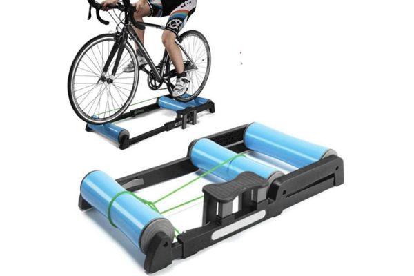 rodillo para entrenar en la bicicleta