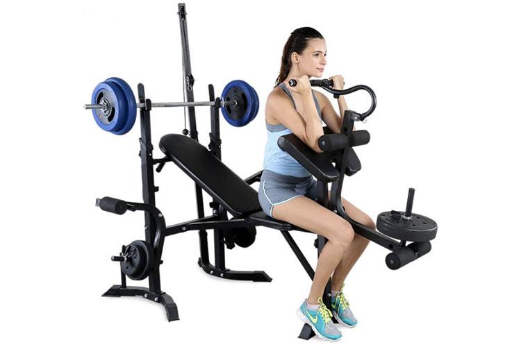 banco de ejercicios para el entrenamiento en el hogar