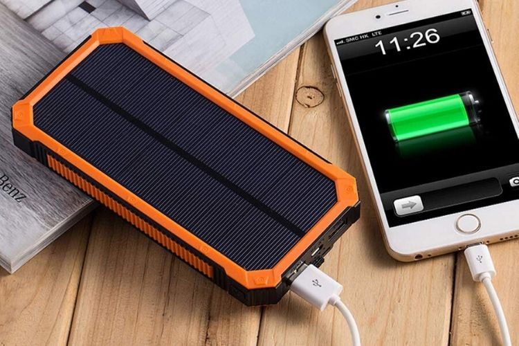 cargador solar portatil