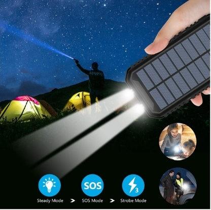 mejor-cargador-solar-portatil-Hiluckey-25000 mAh