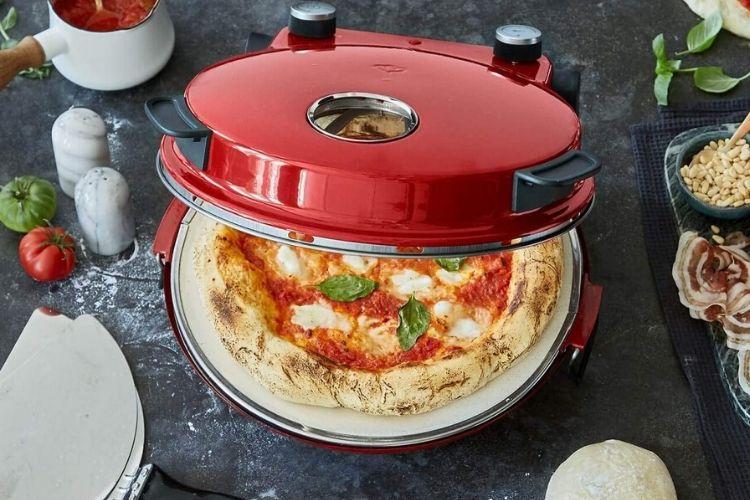 preparar pizza en el horno peppo