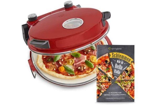horno para pizza recetario