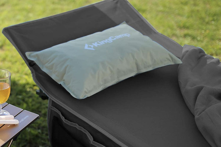 cama de camping king camp
