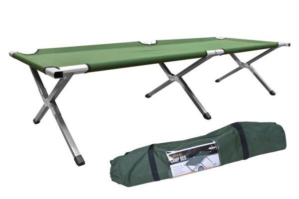 cama plegable de camping