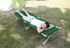 cama de camping milestone