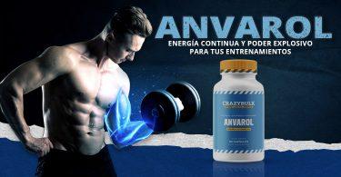 masa muscular con Anvarol