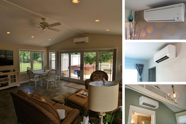 aire acondicionado varias habitaciones