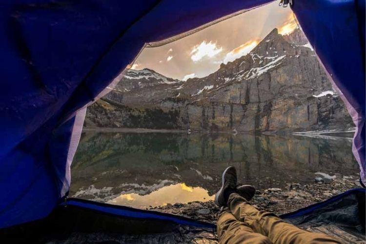 colchón de camping