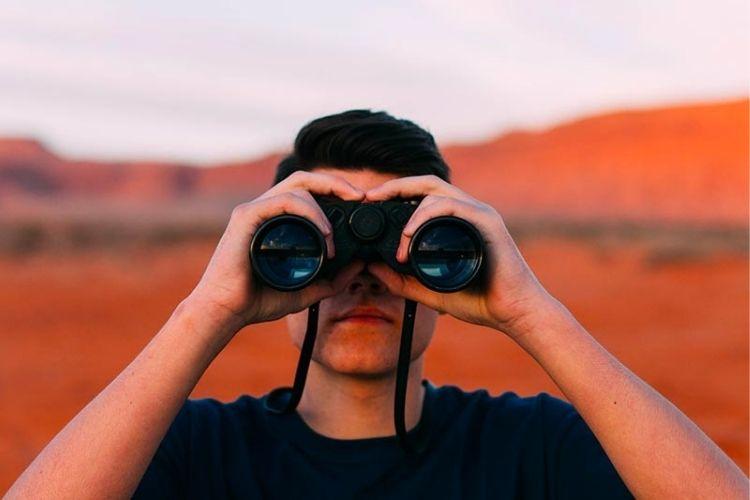 calidad de imagen con binoculares