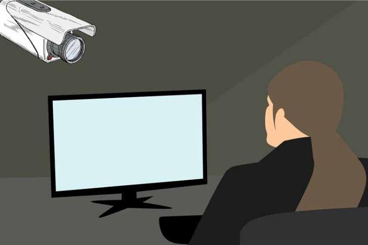 uso de las cámaras de vigilancia