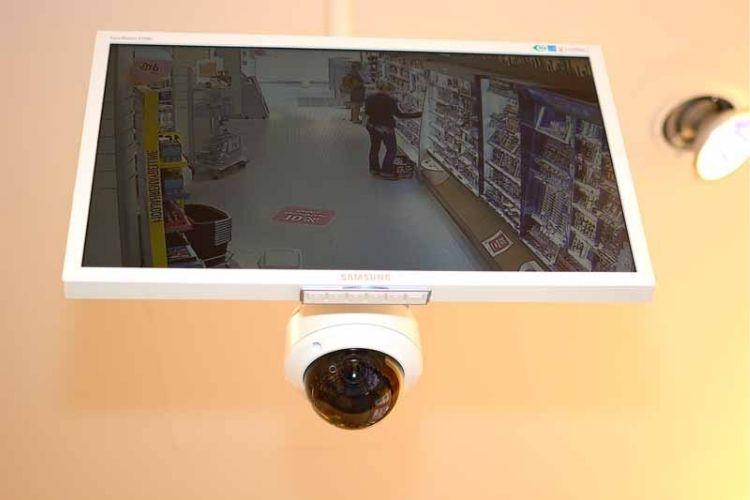 monitores cámaras de vigilancia