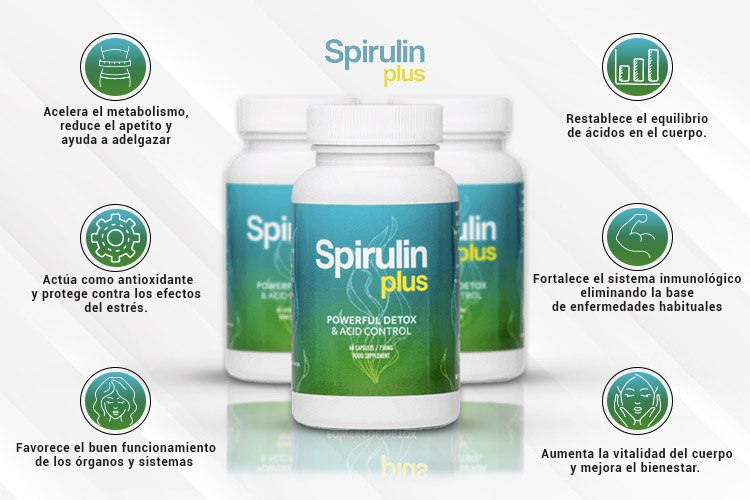 Spirulin Plus beneficios
