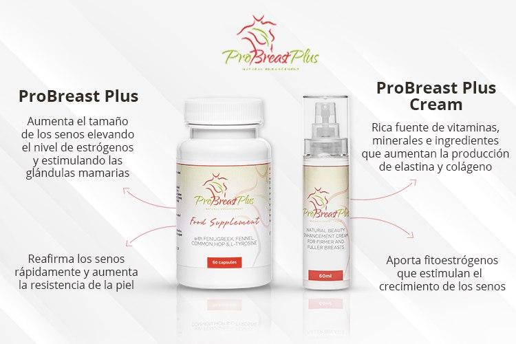 ProBreast Plus para agrandar los senos