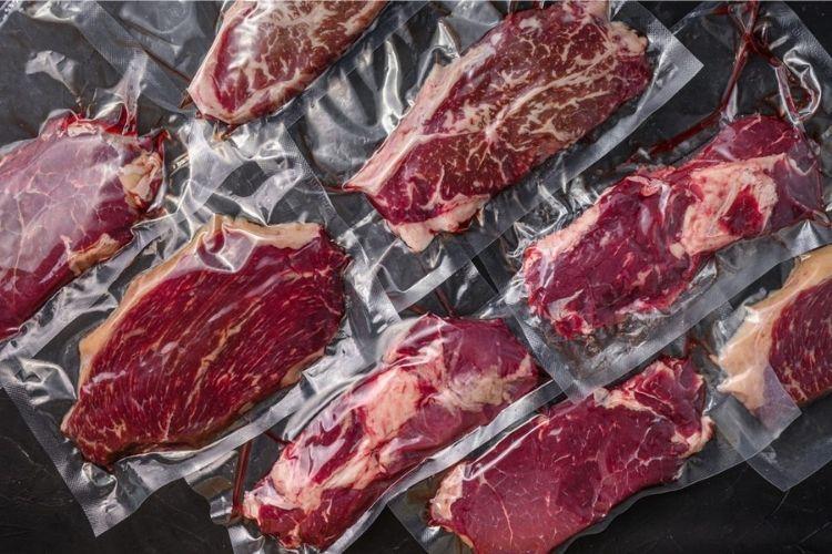 carnes envasadas al vacío